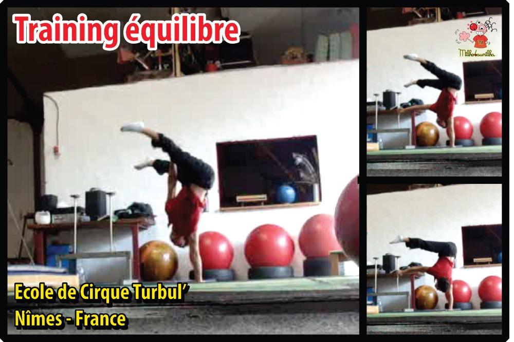Training équilibre