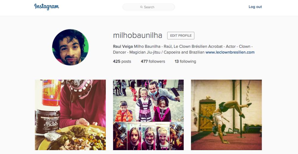 Pour accéder notre Instagram, cliquez sur la photo